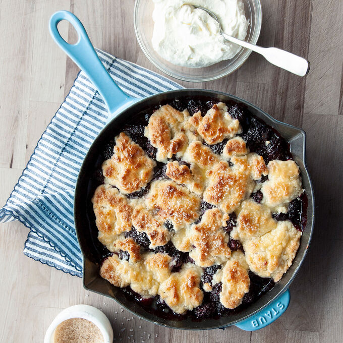 Peggy's Blackberry Cobbler