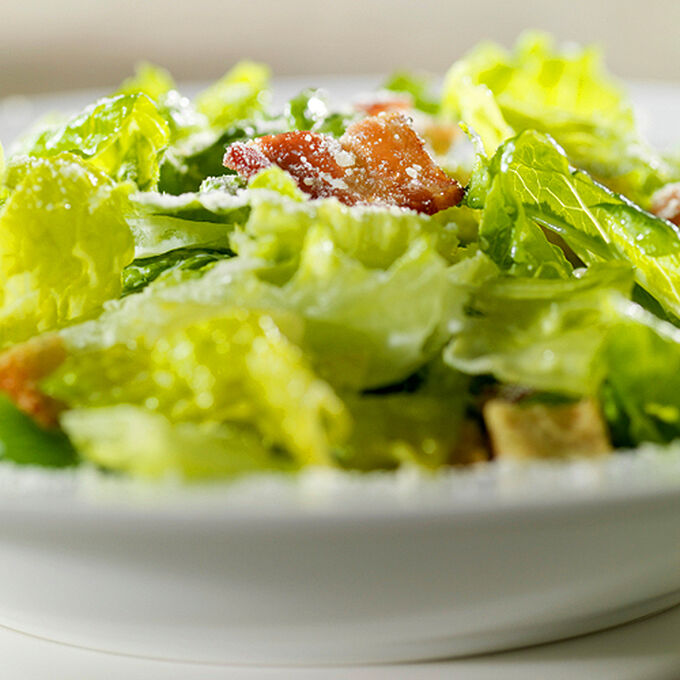 Warm Bibb and Bacon Salad with Malty-Beer Vinaigrette