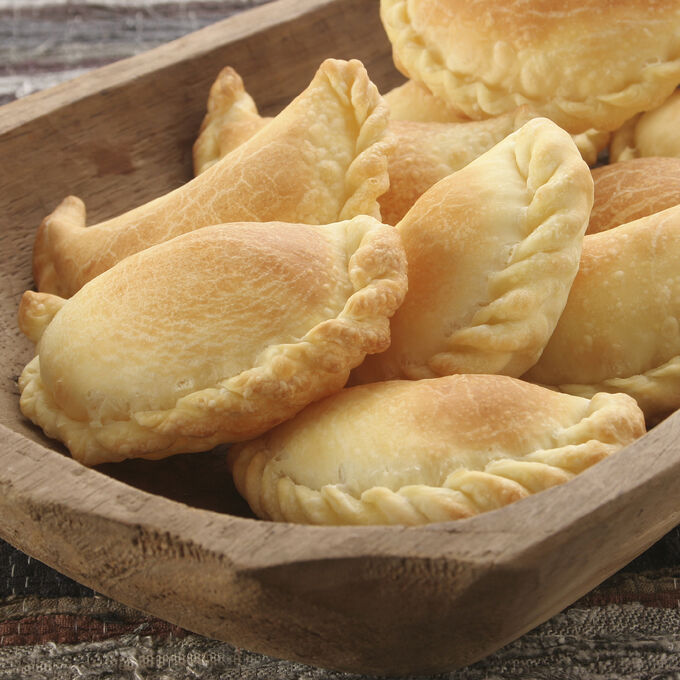 Gruyere, Thyme, and Caramelized Onion Pocket Pies