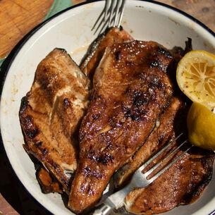 Fried Fish Bones & Smoked Fish