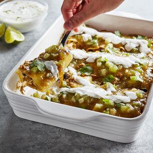 Potato Enchiladas with Chicken