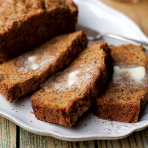 Carrot-Zucchini Bread Recipe with Candied Ginger | Sur La Table