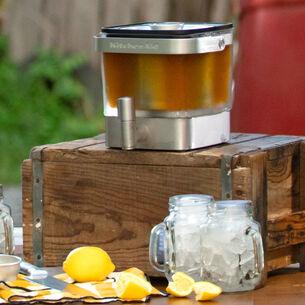 Spent Lemon Sweet Tea