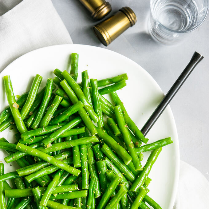 Sautéed Haricots Verts and Shallots