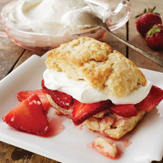 Classic Strawberry Shortcakes