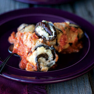 Grilled Eggplant Cannelloni with Ricotta and Prosciutto