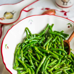 Haricots Verts with Herbes de Provence