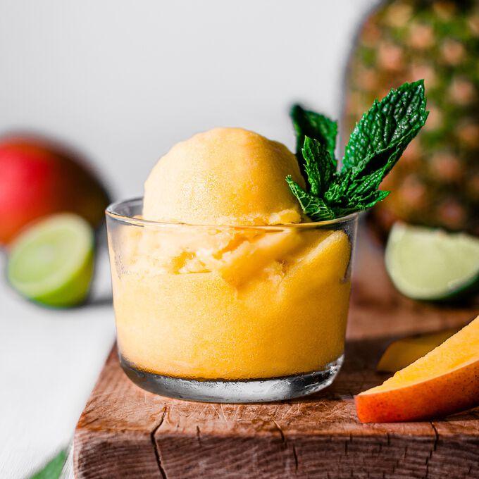 Pineapple Mango Sorbet