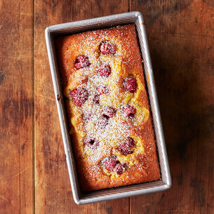 Yogurt Cake with Fresh Berries