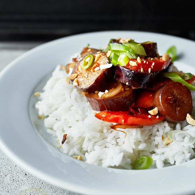 Stir Fried Japanese Eggplant