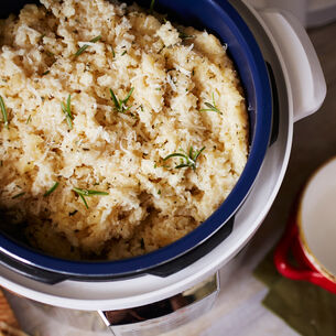 Creamy Gruyere and Parmesan Risotto