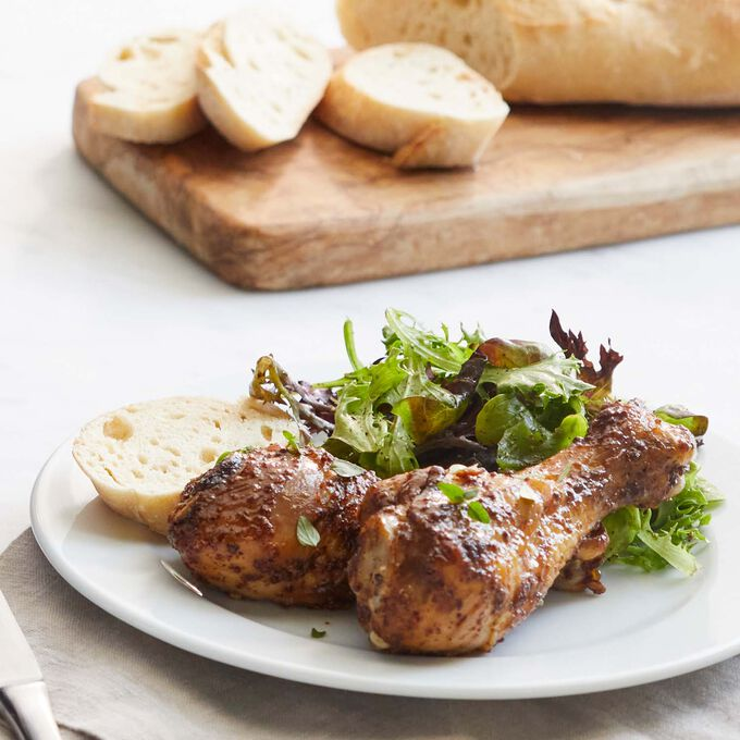 Spicy Drumsticks with Barbecue Marinade