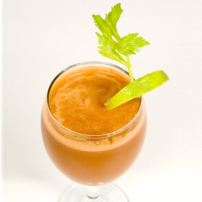 Tomato, Carrot, Celery and Lime Juice