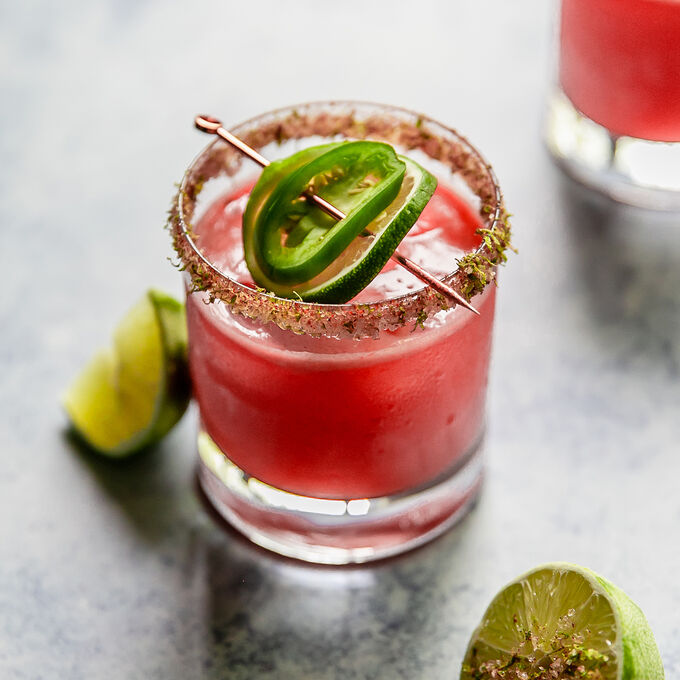 Spicy Watermelon Margarita Pitcher