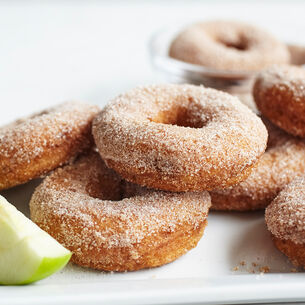 Apple Cider Old Fashioned Doughnuts