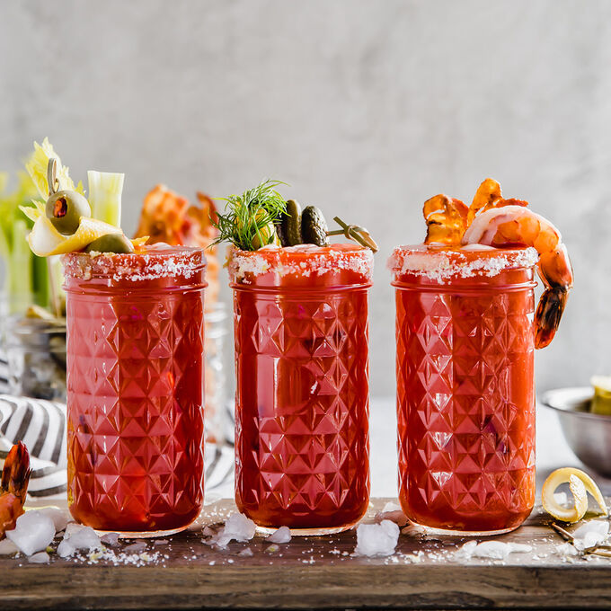 Classic Bloody Mary Bar