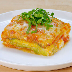 Lasagna with Zucchini Noodles
