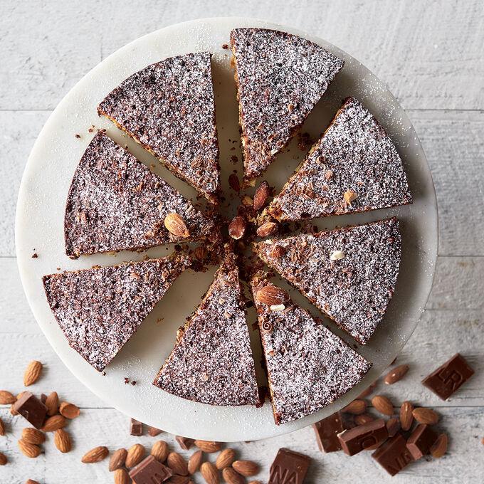 Capri Chocolate-Almond Cake