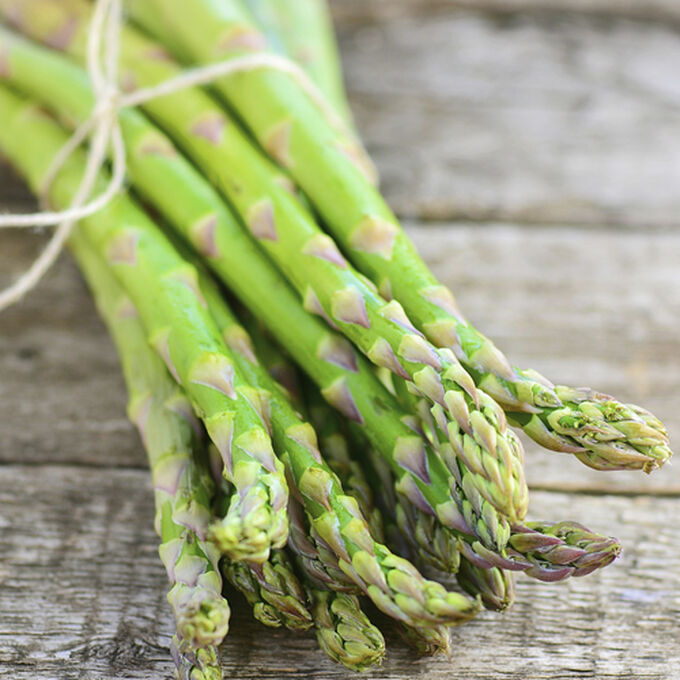 Himalayan Salt Slab Asparagus