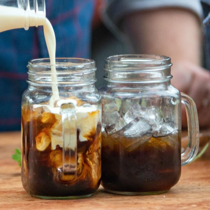 Mint Stem Irish Cold Brew Coffee
