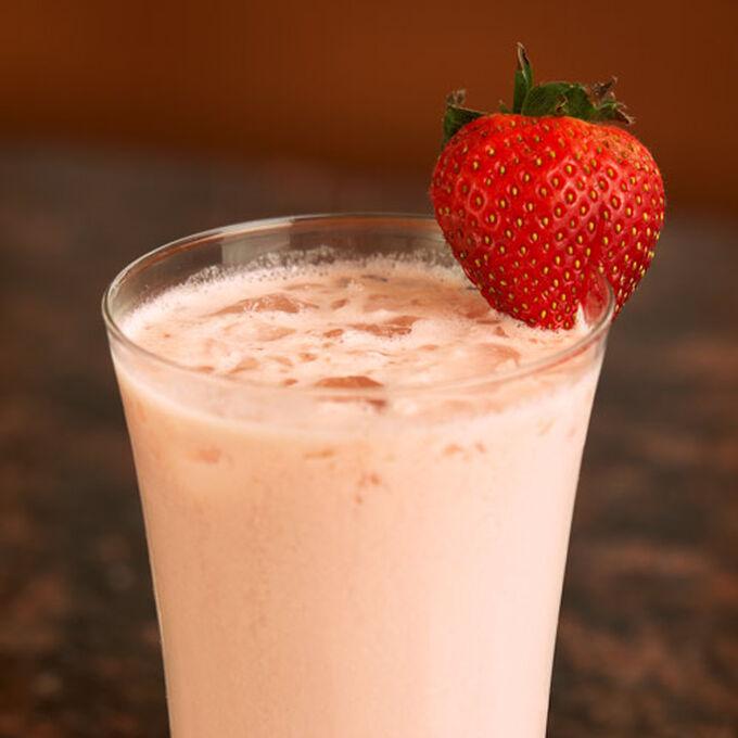 Triple Strawberry Smoothie