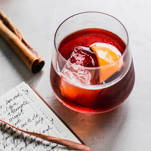 Spiced Negroni