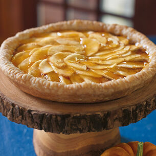 Apple Tart with Almond Filling