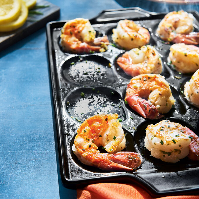 Perfectly Grilled Shrimp