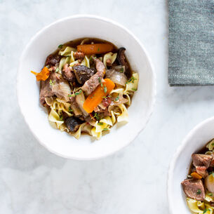 Beef Bourguignon from Instant Pot