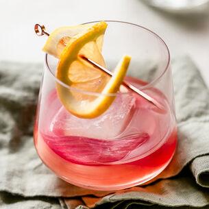 Rhubarb Whiskey Sour