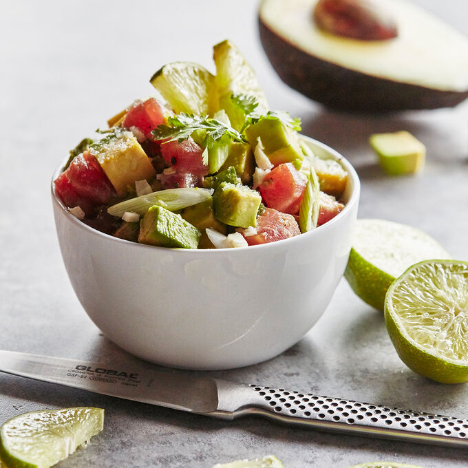 Tuna and Avocado Ceviche