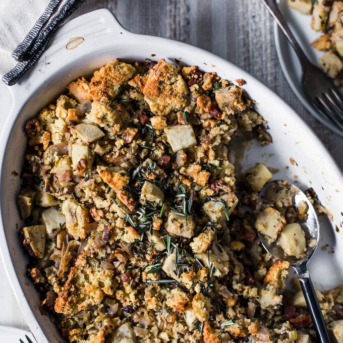 Down-Home Cornbread Stuffing