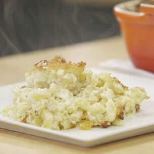 Baked Macaroni and Cheese in the Pressure Oven