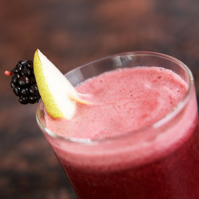 Blackberry, Pear and Grapefruit Juice