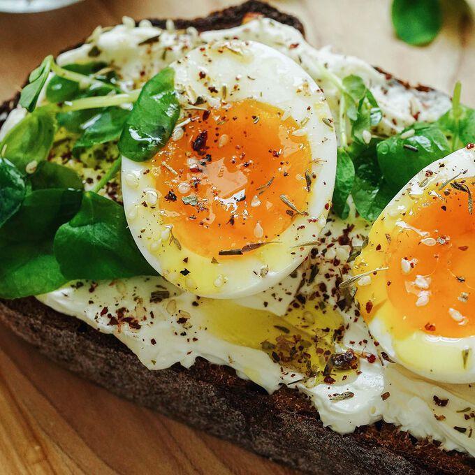 Jammy Egg + Za'atar Toast