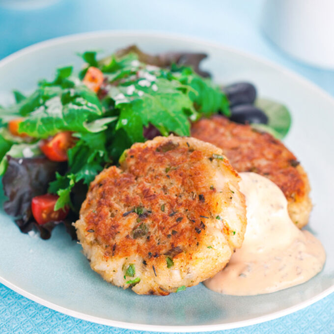 Mini-Crab Cakes with Remoulade