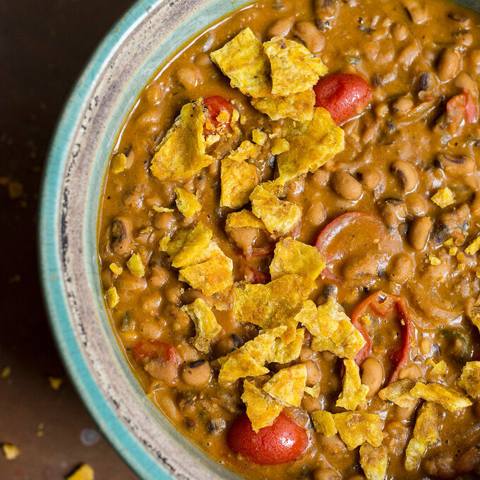 Black-Eyed Pea and Tomato Stew