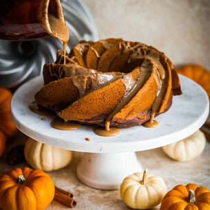 Pumpkin Chocolate Harvest Cake