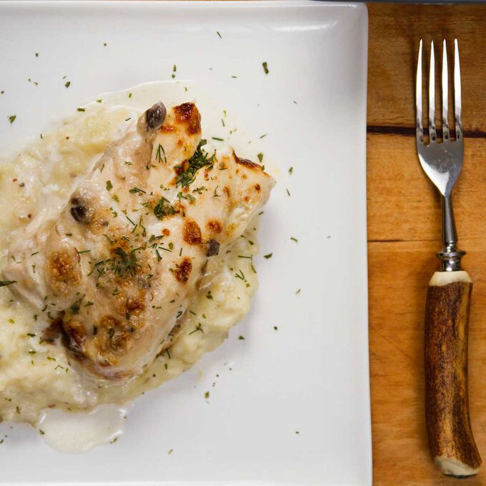 Stove-top Tarragon 'Roast' Chicken with Pan Sauce