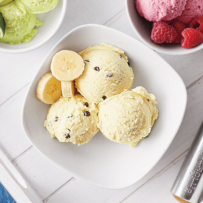 Banana Chip Dairy-Free Ice Cream