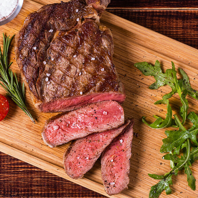 Steak Tagliata with Arugula and Fried Capers
