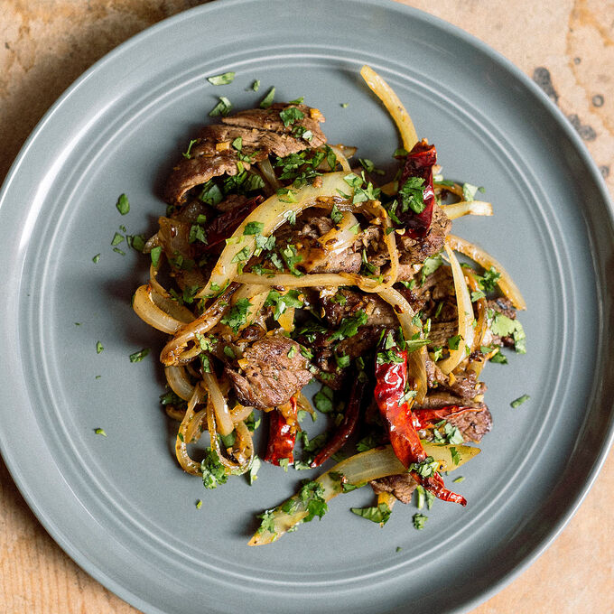Spicy Stir-Fried Cumin Beef