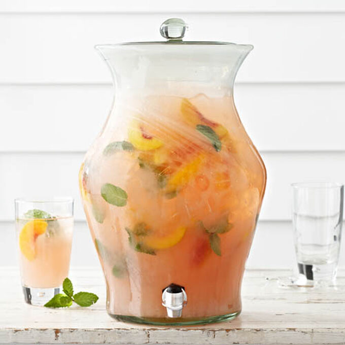 Peach-Mint Lemonade