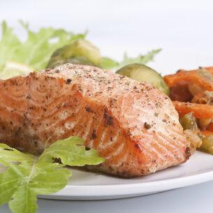 Oven Smoked Salmon