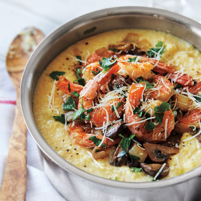 Classic Shrimp and Grits