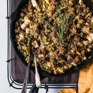 Sausage and Leek Stuffing