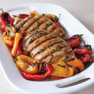 Perfect Steam-Grilled Chicken Breast