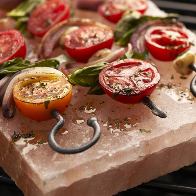 Grilled Tomatoes with Pesto