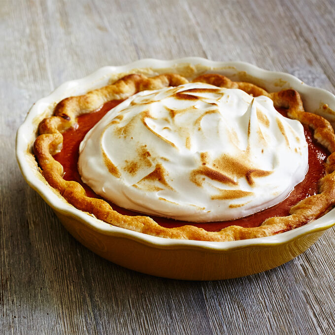 Pumpkin Maple Pie with Spiced Whipped Cream
