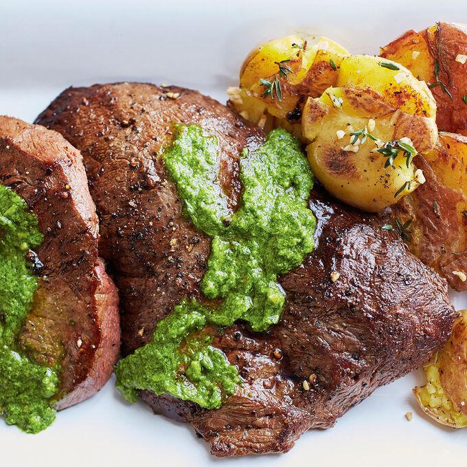 Steak and Mashed Potatoes